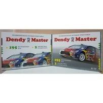 НОВАЯ Игровая приставка Dendy Master 8 Bit Денди Мастер 8 бит 195 ИГР