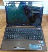 ноутбук Asus K52J нерабочий, по запчастям (разборка)