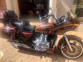 1984 Honda1100 GL Goldwing, 68000km,RWC and on the road,