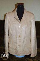Кожаная куртка женская (Турция) новая