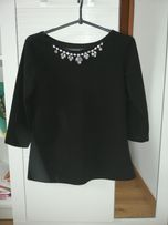 Czarna bluzka S M