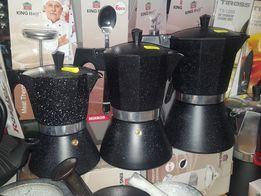 Zaparzacz kawiarka express do kawy ciśnieniowy indukcja SKLEP WAWA