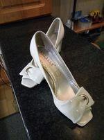 Туфли свадебные лаковые
