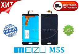 Дисплей для Meizu M5s/ M5 Note/ M5/ M5C модуль черный белый сенсор