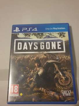 Ps4 Days gone second hand