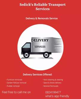 Delivery and Removal Service
