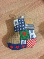 Новогодняя елочная игрушка handmade