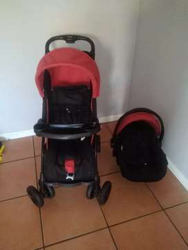 Pram and a carseat