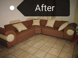 Couch re-upholstery and design