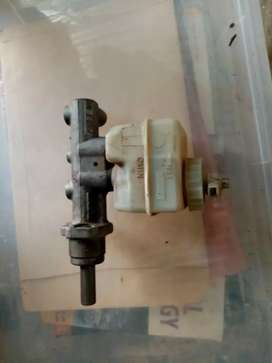 Golf 1 Brake master and booster, wiper motor with arms, steering rack