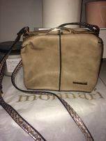 Monnari mały kuferek torebka kopertówka złote dodatki Zara reserved
