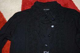 Elegancka Czarna bluzka włoskiej firmy ARTIGLI - 8-10 lat TANIO