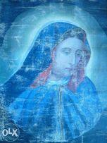 "Образ, ""Богородиця""- полотно, масло-(1910р.), розмір-(30х40см.) Икона."