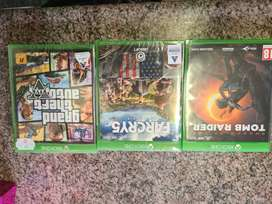 3 Xbox one games(2 brand new still sealed) R750 for all