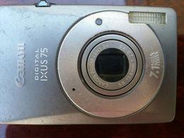 Фотоаппарат Canon ixus 75, 7.1mp под ремонт или на з/ч