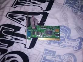 Serial pci card for desktop computers