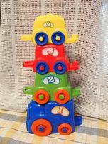 Детская пирамидка Keenway Паровозик с вагонами 31246