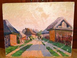 Старая картина живопись Семенюта В.І. (1925-1999) г.Лубны