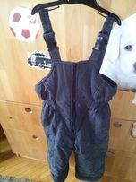 Продам детские комбинезон-штаны на флисе, цвет черный