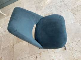 Weylandts occasional bliss dining lounge chair seat, sea green ,blue
