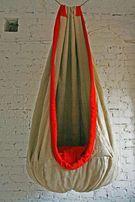 Pufa FOTEL Hamakowy ręcznie robiona handmade