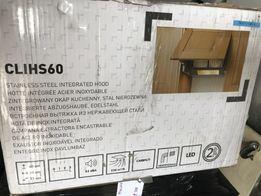 Okap kuchenny Podszafkowy chowany 60 cm