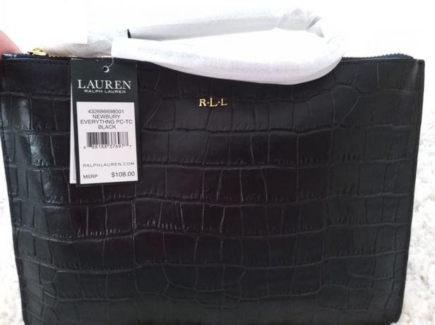 Клатч натур кожа RalphLauren лучший подарок любимой Инженерный - изображение 1