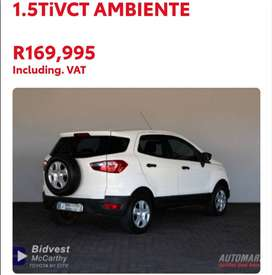2016 FORD ECOSPORT 1.5TIVCT AMBIENT - CONTACT ZIYAAD