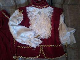 Костюм короля (принца), вельможи, мушкетера, пирата,прокат, аренда