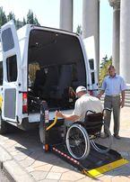 Гидроборт гидравлический автоподъемник для инвалидной коляски