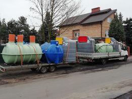 zbiornik na paliwo ropę 2500 litrów dwupłaszczowy
