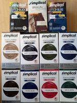 Краски для ткани,одежды, формы Simplicol-18 цветов в стиральной машине