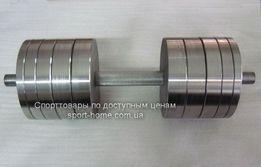 Мощные гантели 2 по 40 кг из крепкой стали. Доступная цена!