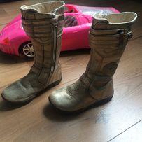 весняні весенние чоботи чобітки Chicco демисезон ботинки золоті 26 р