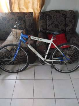 Shimano 21 speed mountain bike