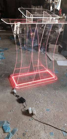 LED Butterfly Podium