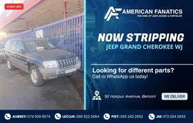 Breaking Jeep Grand Cherokee WJ for parts to sell!