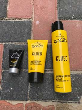 3 Lace glues for 400