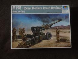 Сборная модель 1:35 пушка М198 TRUMPETER