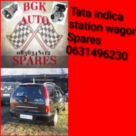 Tata indica station wagon spares available