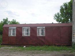 Строительный утепленный капитальный вагончик 30кв.м.Оплата люб.,бартер