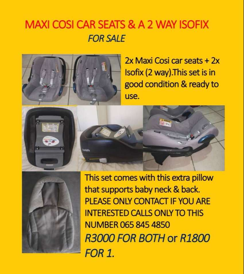 Car seat and Isofix 0