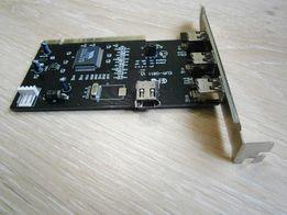 Контролер плата FireWire IEEE-1394 ( DV видеозахват и.т.д )