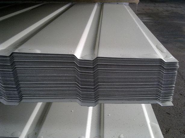BLACHA TRAPEZOWA T6 T7 T8 biała 9002 idealna na elewację, podbitkę... Widawa - image 2