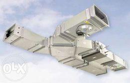 Вентиляция, воздушное отопление: монтаж,ремонт,сервис.