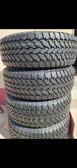 We have brand new 255/60/18 xl AT3 General grabber Tyres for sale.