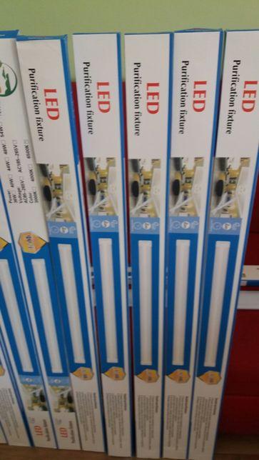 Lampa led 36w =72w 120cm długa garaź warsztat Będzin - image 2