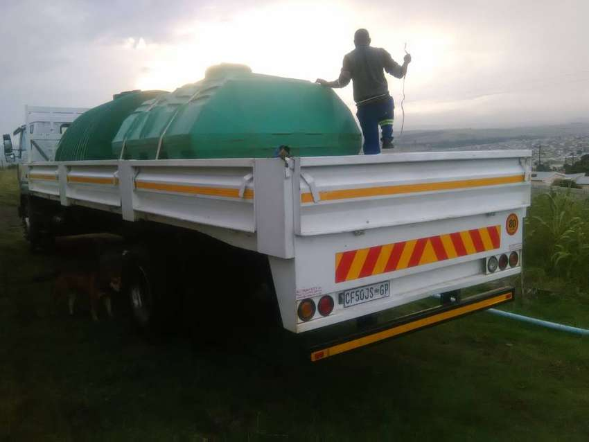 We hire out Water Tankers + 8 Ton trucks + Tipper Trucks. Good rates 0