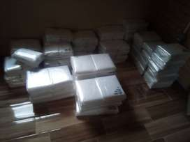 Black refuse and Packaging Plastics for sale