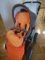 Wózek wielofunkcyjny TEUTONIA spacerówka + gondola